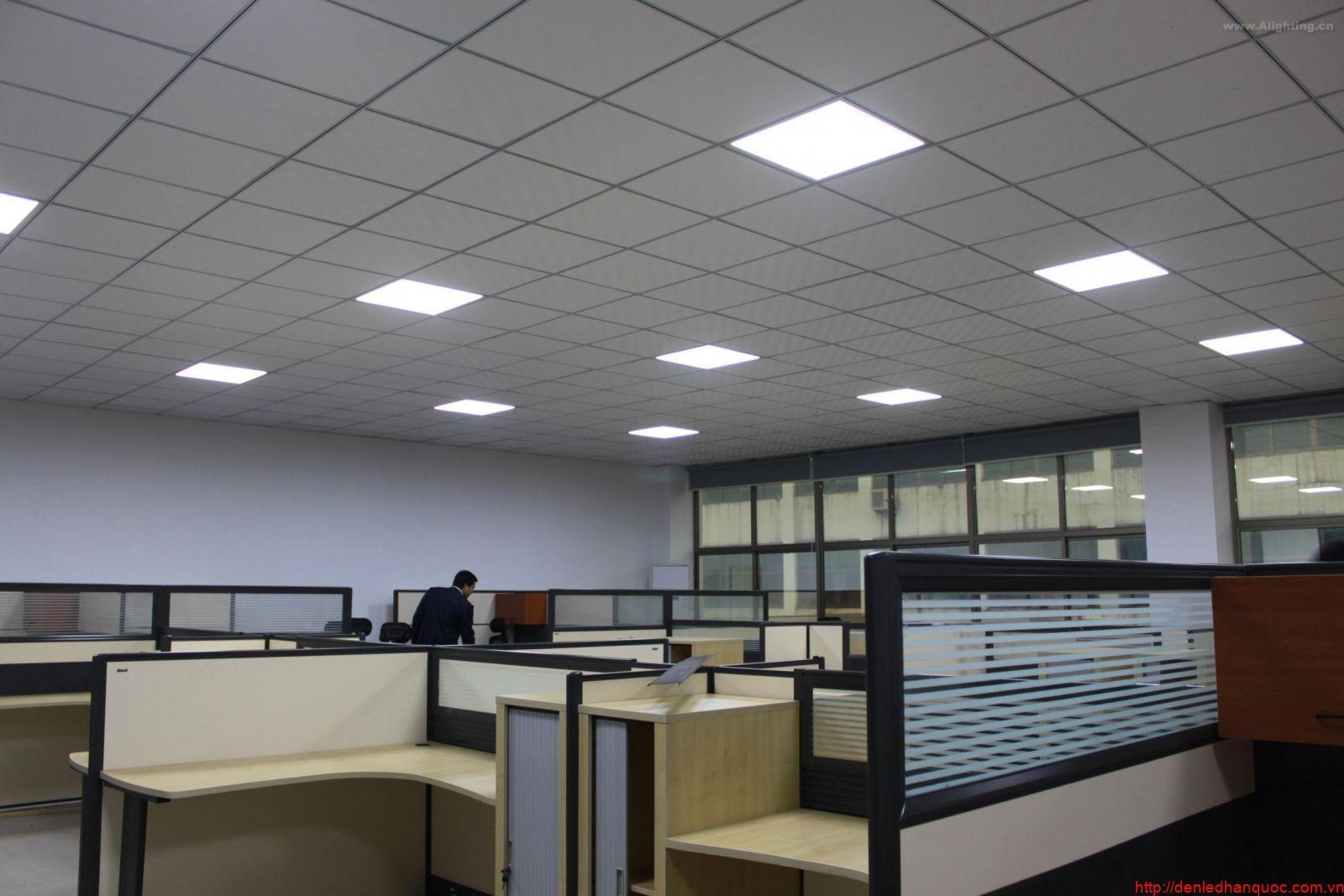 Tư vấn chọn đèn led panel cho văn phòng làm việc - Đèn LED TLC ...