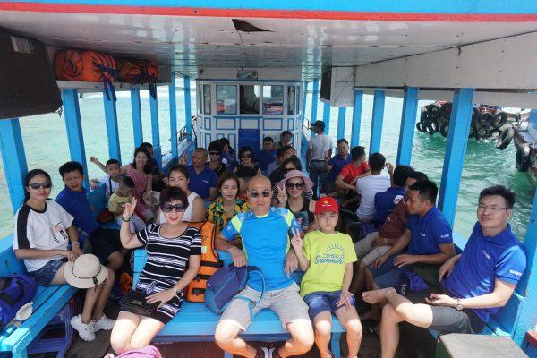 TLC Lighting tham quan đảo Hòn Mun - Nha Trang