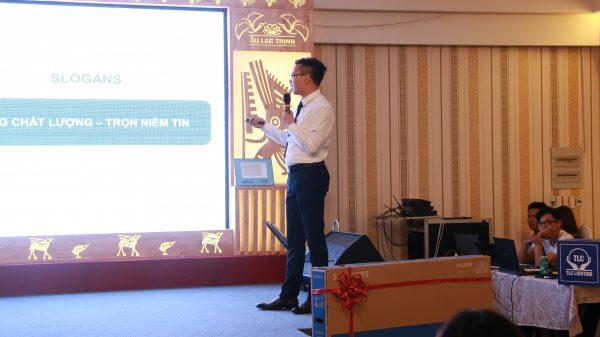 Ông Trần Mạnh Tuấn - Tổng giám đốc TLC Lighting chia sẻ về định hướng của công ty