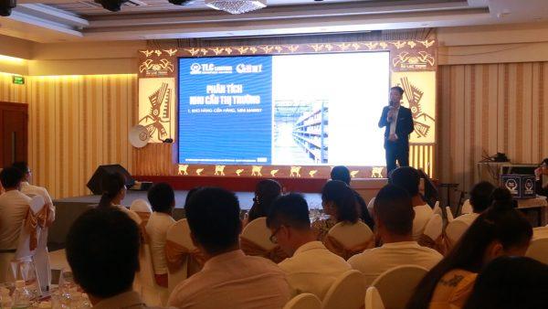 Ông Lê Thanh Hà - Giám đốc Marketing chia sẻ về các sản phẩm mới và chương trình tri ân