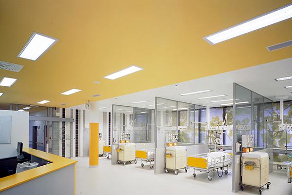 Đèn LED Panel OS 300x1200 sử dụng trong bệnh viện