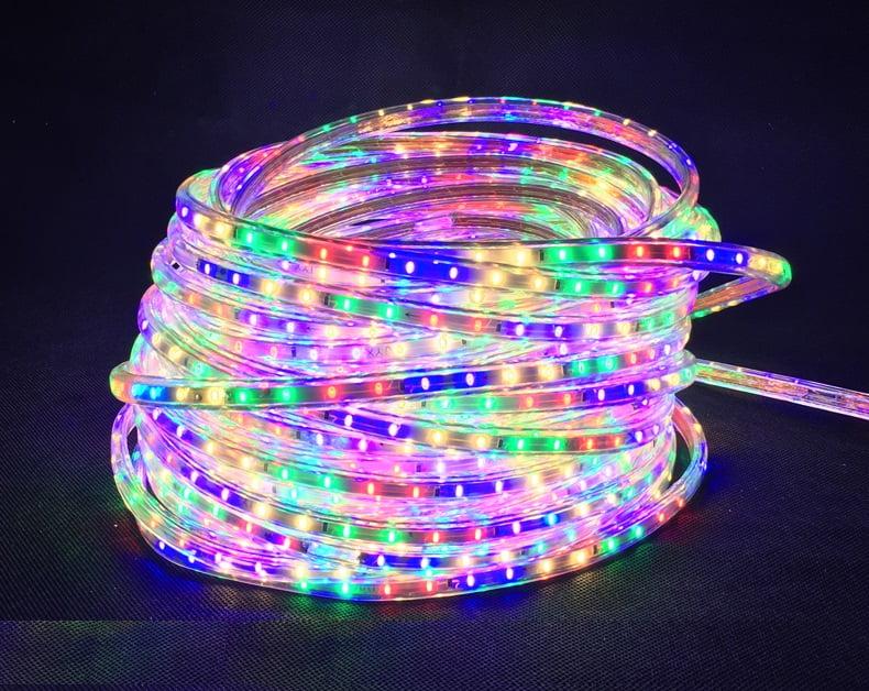 Đèn led dây silicon có cấu tạo chắc chắn, chống thấm nước tuyệt đối