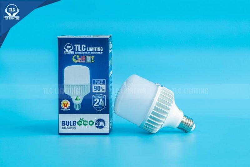 Đèn LED Búp trụ ECO 20W