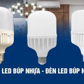 Đèn LED búp nhựa - Đèn LED búp nhôm