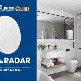 Ốp trần cảm ứng Radar TLC Lighting