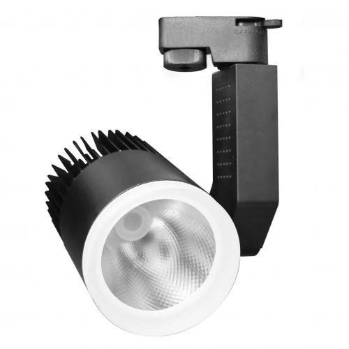 LED rọi tam cấp vỏ đen1