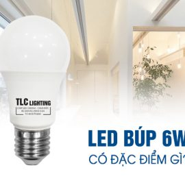 Đèn LED búp 6w có đặc điểm gì?