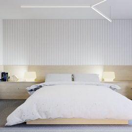 Đèn ngủ treo tường giá rẻ được ưa chuộng