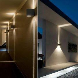 Đèn tường trang trí cho hành lang tạo điểm nhấn
