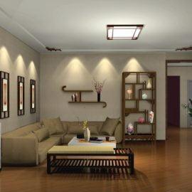 Đèn ốp tường trang trí phòng khách