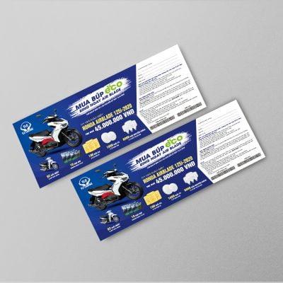 Thẻ cào CTKM hợp lệ do TLC Lighting phát hành