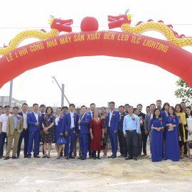 TLC Lighting tổ chức lễ khởi công xây dựng nhà máy mới tại Hà Nam