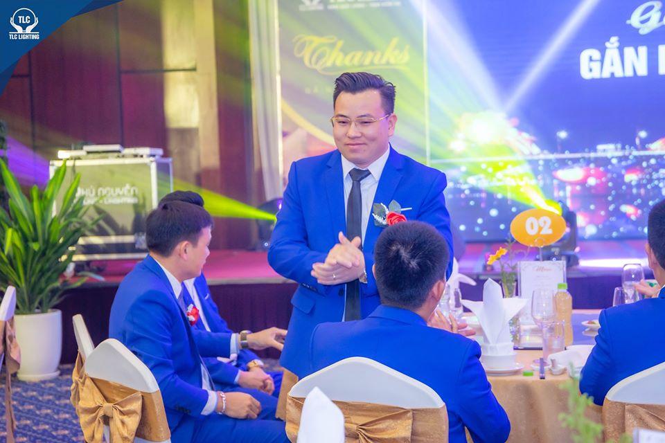 Ông Trần Quốc Toàn - Phó giám đốc TLC Lighting