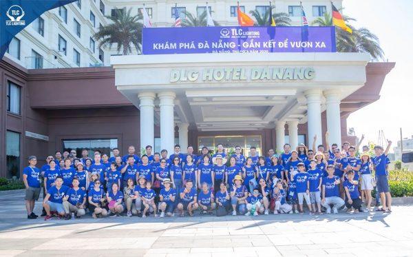 Khách hàng tham gia chương trình du lịch hè 2020 của TLC Lighting