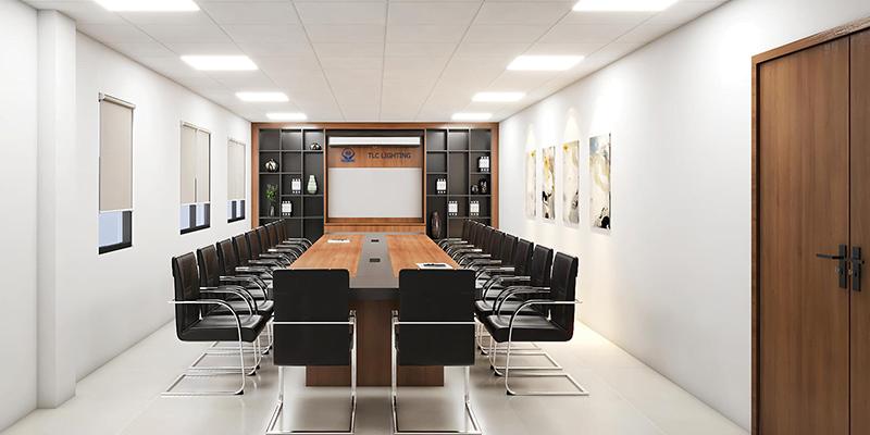 Văn phòng làm việc hiện đại, khang trang của TLC Lighting