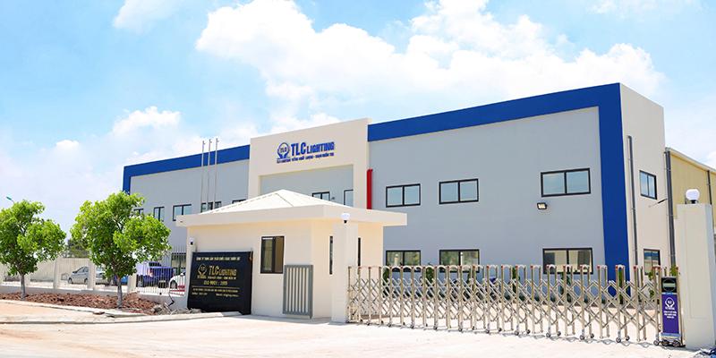 Nhà máy thứ hai của TLC Lighting được xây dựng với cơ sở vật chất hiện đại